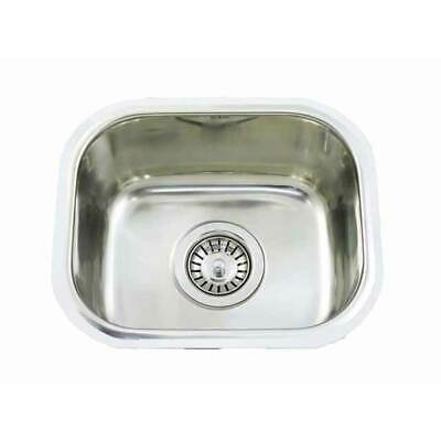 Small Bar single BOWL Inset Kitchen SINK Stainless Steel TUB CM3 12L 357x295x150
