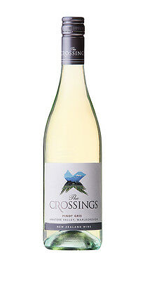 6 X The Crossing Awatere Valley,Marlborough Pinot Gris 2016