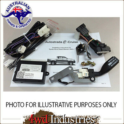 Cruise Control Kit Plug & Play Ford Ranger 2007-2011 with Airbag FO05S Stalk LH