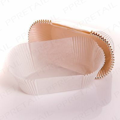 25 x DISPOSABLE LOAF TIN 2lb LINERS Greaseproof Non Stick Pudding/Cake/Bake Case