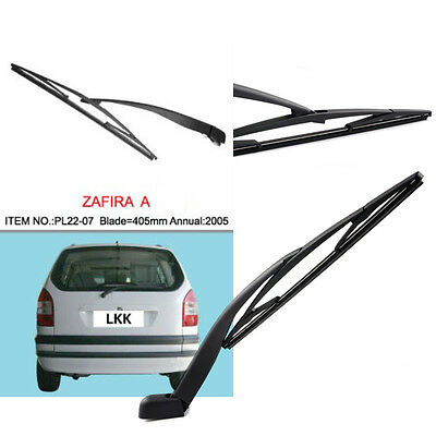 Set Rear Wiper Blade and Arm window windscreen Vauxhall Zafira 1999-2005