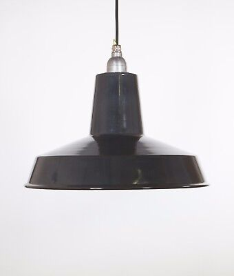 LINTON - Factory Enamel Ceiling Pendant Light - Vintage Industrial