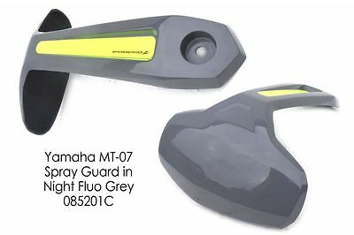 Yamaha MT07 / FZ07 (14+) Rear Spray Guard Hugger Alternative Night Fluo Grey