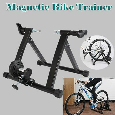 Fine Indoor Bike Magnetic Stand Trainer Exercise Gym Bicycle Cycling Training AU