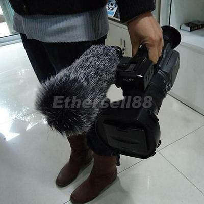 Mic Microphone Windshield Fur Wind Muff For Camera Camcorder Recorder 23cm