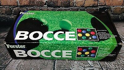 Forster Bocce Ball Set 97050 - Complete w/ Box