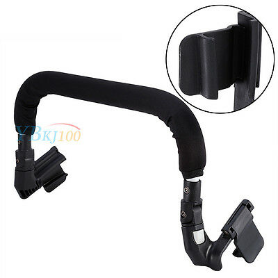 Universal Baby Stroller Pram Pushchair Grip Handle Handlebars Armrest Bumper Bar