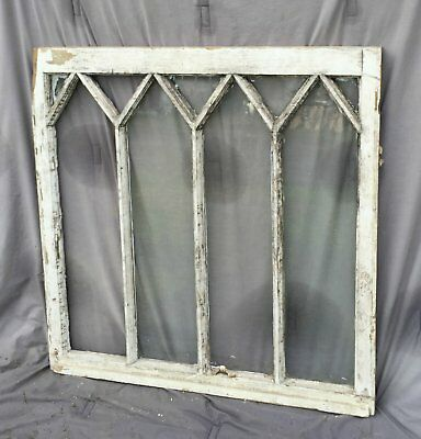 Antique Window Gothic Sash Pattern Shabby Cottage Chic Garden 1399-16