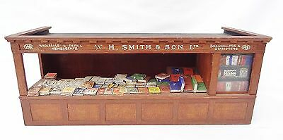 102: Vintage Scratch Built Gauge1  W.H. Smith  Railway Station Book Stall