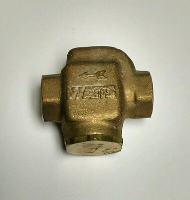 Watts Fluidair 137 Porous Bronze Strainer