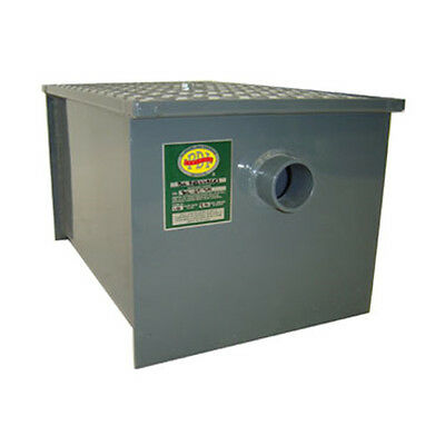 John Boos GT-100 Grease Trap 100 lb Capacity