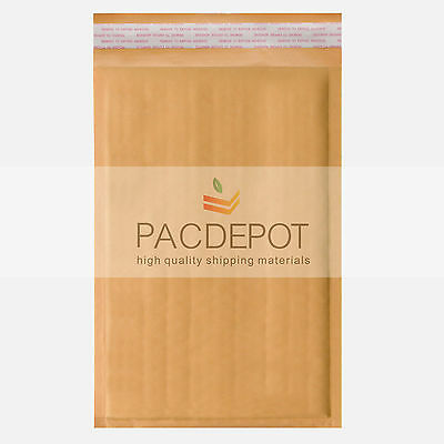 """50 100 500 x #2 Kraft Bubble Mailers Padded Envelopes Shipping Bags 8.5"""" X 12"""""""