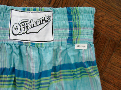 Vintage 1980's Nwt, Off Shore Surf/swim/board Shorts Mens Size Medium, Authentic