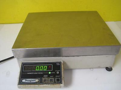 Pennsylvania Digital Counting Scale HEAVY DUTY 50lb Capacity Model 7500 TESTED