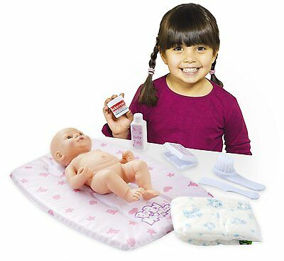 Casdon 712 Baby Huggles Dolls Changing Mat Set Pretend Play Nappy Comb Baby Wipe