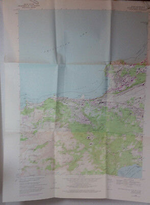 Vtg USGS Topo Map Agana Quad Guam 1968 Mariana Islands