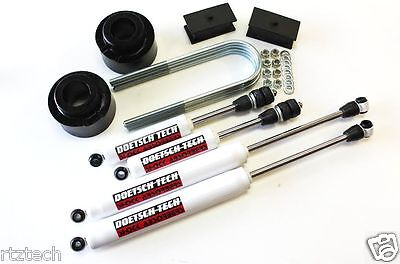 "K3500 1988-2000  3/"" /& 3.5/"" LIFT KIT DOETSCH TECH PRERUNNER DT 8000 SHOCKS 4WD B"