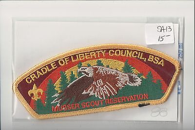 Cradle of Liberty Council Musser Scout Reservation SA-13 CSP