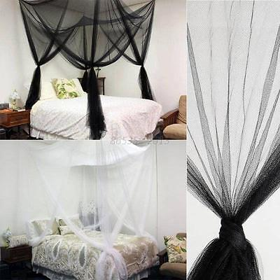 Mosquito Net Insect Netting Bed Mesh Canopy Four Corner Post Net Bedding Tent