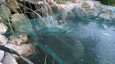 Pond Covering Net 4x4, 2M Pond Net Pond Net Grey Heron Leaf Covering Net