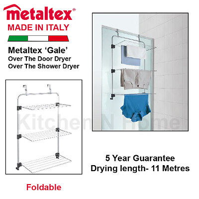 3 Layers Shower Dryer, Over Door Clothes Drying Rack, Foldable, Home Airer
