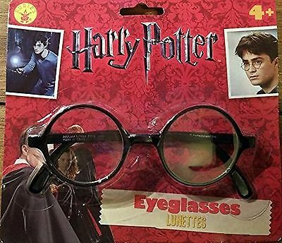 Harry Potter Deluxe Glasses Halloween Party Accessories Fun Black, New!