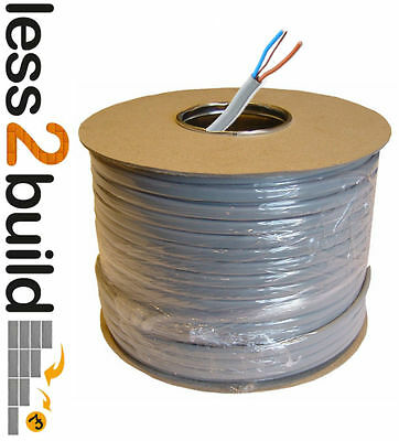 Twin and Earth 1.5 mm-2.5mm  Electrical Cable CE Marked Select lengths