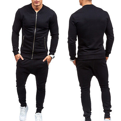 homme combinaison de jogging tenue de sport pantalon veste eur 20 19 picclick fr. Black Bedroom Furniture Sets. Home Design Ideas