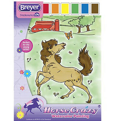 Breyer Horse Crazy Watercolor Painting