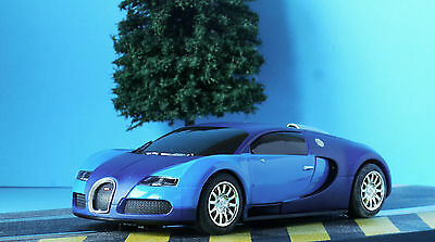 SCALEXTRIC DPR BUGATTI VEYRON CAR TWO TONE BLUE from HYPERDRIVE SET C1321