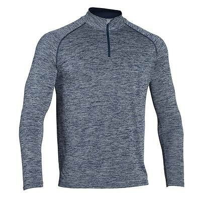 Mens Sports Exercise Long Sleeve 1/4 Zip Shirt Gym Running Fitness Tops Shirts