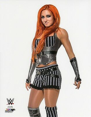 "WWE NXT PHOTO BECKY LYNCH 8x10"" OFFICIAL WRESTLING PROMO BRAND NEW"