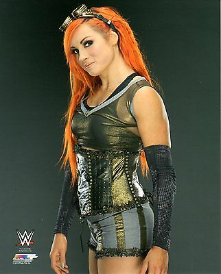 "BECKY LYNCH WWE PHOTO WRESTLING GENUINE OFFICIAL 8x10"" PROMO NXT"