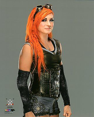 "WWE PHOTO BECKY LYNCH WRESTLING GENUINE OFFICIAL 8x10"" PROMO NXT PICTURE"