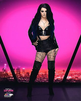 "PAIGE WWE PHOTO WRESTLING GENUINE OFFICIAL 8x10"" PROMO NXT TOTAL DIVAS"