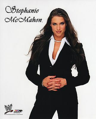 "STEPHANIE McMAHON WWE PHOTO  8x10"" OFFICIAL WRESTLING PROMO THE AUTHORITY"