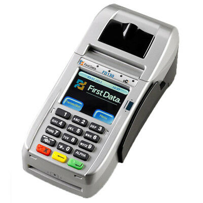 New First Data Fd130  +  Emv + Nfc / Ctls + Internet / Dial /wifi Free Ship