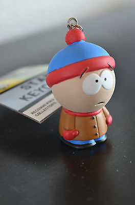 2004 South Park Comedy Central Stan Key Chain Ring Figure New