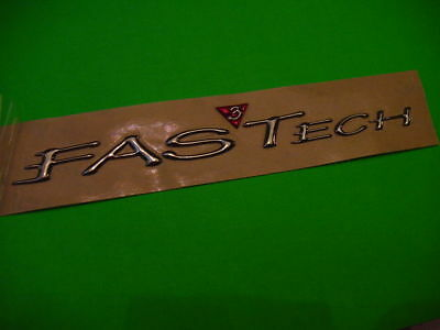 FORMULA  FASTECH EMBLEM LOGO BADGE large size 9-3/8 long BOAT GENUINE