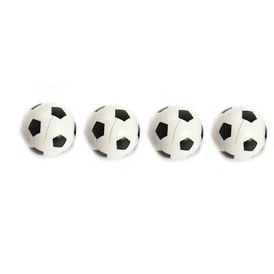 4Pcs 36mm Plastic Mini Soccer Table Foosball Ball Football Fussball Indoor Game