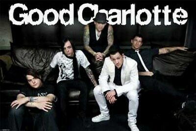 GOOD CHARLOTTE POSTER Sofa Group Shot RARE HOT 24X36 - PRINT IMAGE PHOTO