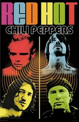 New 24X36 Poster Red Hot Chili Peppers Rare Collector - Print Image Photo
