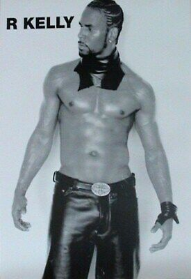 R KELLY POSTER Muscle Close Up RARE NEW HOT 24X36 - PRINT IMAGE PHOTO