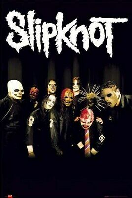 Slipknot Poster - Tribal Masks - Rare New Scary - Print Image Photo