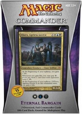 MTG Magic - ETERNAL BARGAIN - Commander 2013 Deck English - EDH - New and Sealed