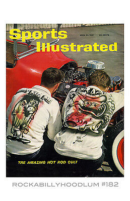 New Hot Rod Poster 11x17 Ed Roth Sports Illustrated Cover Weirdo Airbrush Shirts