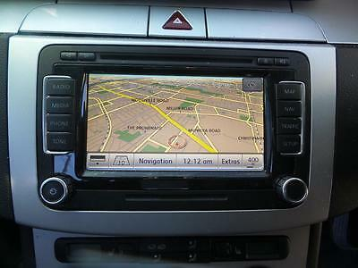 Volkswagen Touch Screen Navigation (Rns510) With Gps Antenna & User Handbook