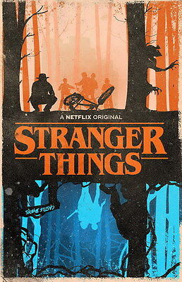 "4085 Hot Movie TV Shows - Stranger Things 10 14""x22"" Poster"