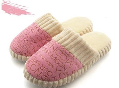 Women Warm Slipper Shoes Soft Plush Home Slippers Indoor Sleeping Shoes NEW