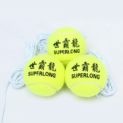1*Practical Kids Adult Tennis Training Aids Ball Rope Outdoor Fun Baby Toys Game